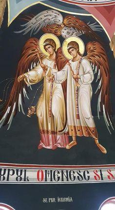 Byzantine Icons, Byzantine Art, Religious Icons, Religious Art, Book Of Kells, All Icon, Orthodox Icons, Angel Art, Medieval Art