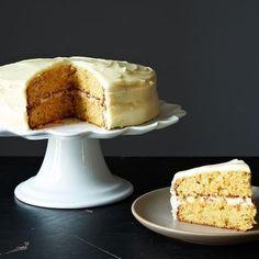 Carrot Cake with Cardamom on Food52