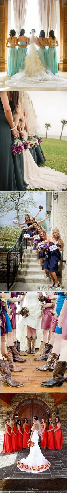 Wedding Photos With Your Bridesmaids  in the special wedding ceremony. #Wedding #Ceremony  #Photography