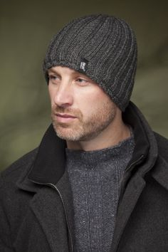 a0f5b18eaa8 Heat Holders 3.4 Tog Hat In Charcoal £10.00 Knit Hat For Men