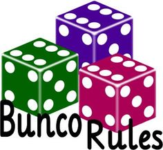BUNCoPRiNTaBLES FREEbies - Bunco Rules, Bunco Calendar, Bunco Winners, Bunco Dates and Places, Start Your Own Bunco Group, Conversation Starters, Bunco Roster and Sub List, Bunco Invitations