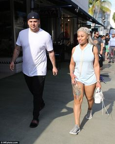 Let's eat: Rob Kardashian and pregnant Blac Chyna were hungry for comfort fare on Thursday...