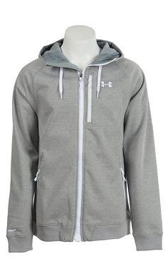Under Armour Men's True Gray Heather UA Storm ColdGear Infrared Dobson Softshell Jacket | Cavender's