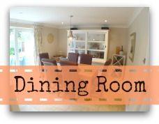dining room organising