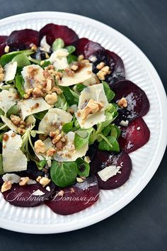 Healthy Salad Recipes, Raw Food Recipes, Veggie Recipes, Appetizer Recipes, Vegetarian Recipes, Cooking Recipes, Tapas, Roh Vegan, Clean Eating