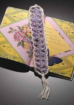 Talking Crochet ... Hairpin Lace Bookmark