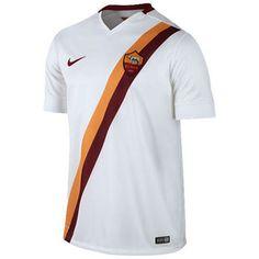 AS Roma Nike Away Stadium Soccer Jersey – White