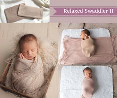 Relaxed Swaddler II |Newborn Swaddling Assistant for Baby Photography