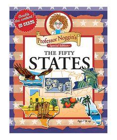 Outset Media Professor Noggin The 50 States Game | zulily
