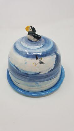 Handmade Design, Butter Dish, Design Art, Arts And Crafts, Artisan, Pottery, Crafty, Cake, Creative