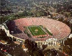 Rose Bowl Stadium - Pasadena, California 1982