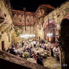 "Distinctive Italy Weddings on Instagram: ""RSVP yes to this glamorous ancient castle wedding in the Tuscan hills? 💌 It's easy to see why all these guests did! The indoor/outdoor feel…"""
