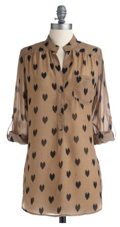 darling heart tunic