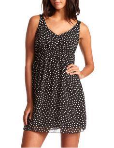 finally bought a cute polka dot dress. Charlotte Russe. $29.99