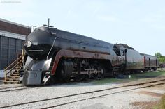 """#611 is one of fourteen Class J passenger locomotives built by the Norfolk & Western Railway between 1941 and 1950 and the only one still in existence today.On 21st May 2015, #611 made a brief test run from Spencer to Greensboro, NC, pulling the museum's """"Powhatan Arrow"""" passenger cars. On 30th May, it hauled its first excursion from Spencer, NC, to Roanoke, VA."""
