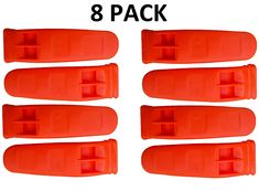 Camping Hiking Gear and Outfit :JQuad Outdoors - 8 Pack Safety Keychain Marine Whistle Boating Camping Hiking Emergency Survival Ice Fishing Rescue ** Check this awesome image Outdoor Survival, Outdoor Camping, Outdoor Gear, Best Camping Gear, Hiking Gear, Distress Signal, How To Whistle Loud, Outdoor Gadgets, Ice Fishing