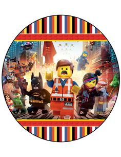 The Lego Movie Birthday Party Centerpiece Instant Download