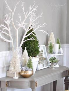 Tabletop Christmas Decorations