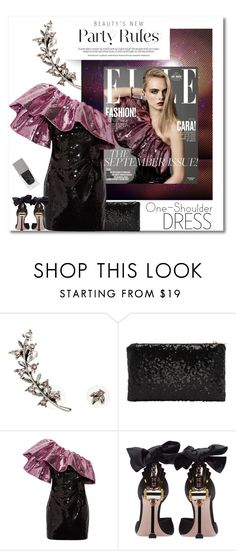 """""""PaRTY CODE"""" by groove-muffin on Polyvore featuring Oscar de la Renta, Yves Saint Laurent, Miu Miu and Givenchy"""