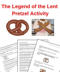 Get this printable Legend of the Pretzel craft for free! This fun craft idea is perfect for sunday school kids of all ages. Kids Sunday School Lessons, Sunday School Activities, Sunday School Crafts, Lessons For Kids, Religion Activities, Craft Activities For Kids, Church Activities, Lent Kids, Kids Church