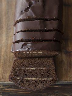 cakes de chocolate amargo de El gato goloso