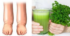 MIRA CÓMO ELIMINAR LA HINCHAZÓN DE PIERNAS, CADERAS Y ABDOMEN POR LA RETENCIÓN DE LÍQUIDOS.TE SORPRENDERÁ! | Edema, Carafe, Celery, Glass Of Milk, Vegetables, Drinks, Tips, Juices, Milkshakes