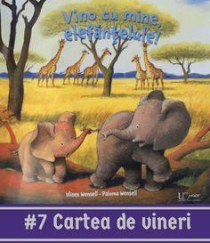 """O carte despre dragostea fraternă, despre prietenie, despre altruism. Cam așa ar putea fi descrisă cartea din această vineri caldă de aprilie. O poveste cu simbolistică terapeutică despre relația dintre frați, din care nu lipsesc însă amuzamentul și aventurile. Despre ce este vorba """"Vino cu mine, elefănțelule!"""" este povestea jucăușului elefant Bobo, care abia a… Winnie The Pooh, Disney Characters, Fictional Characters, Elephant, Presents, Books, Animals, Gifts, Libros"""