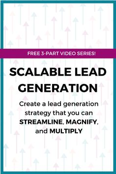 Join in on this video series that will teach you how to streamline, magnify, and multiply your lead generation strategy. Business Tips, Online Business, Business Coaching, Building A Business Plan, Facebook Marketing, Lead Generation, Pinterest Marketing, Marketing Strategies, Wordpress Plugins