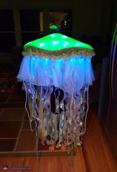 Genevieve: My daughter who is 8 wanted to be a jellyfish, after hunting for a tutorial, we found a few ideas online and got to working. We spray painted an old...