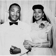 """ On this date, June in Martin Luther King, Jr. and Coretta Scott were married in Marion, Alabama. "" [Excerpt from The Autobiography of Martin Luther King, Jr. Martin Luther King, Martin King, Coretta Scott King, Black Love, Black Is Beautiful, Beautiful Wife, Black Art, Les Kennedy, The Jacksons"