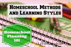 Homeschool Planning 101: Methods and Learning Styles | LaToyaEdwards.net
