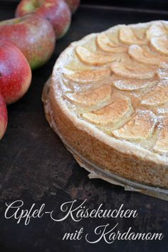 Apfel Käsekuchen #ichbacksmir #apfelkuchen #apple