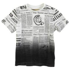 Tee-shirt manches courtes imprimé Gazette 52.00 € John Galliano Kids