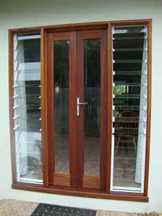 louvre windows with bifolds - Google Search