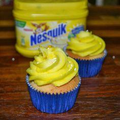 #cupcakes #nesquik #cupcakesplatano