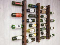 Tuscan Wine Racks Set of 3 8 bottles each by VetrinaDelVino