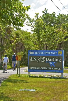 J.N. Ding Darling, Sanibel Island, This is a must. Great bird watching and, if you're lucky, the Roseate Spoonbill