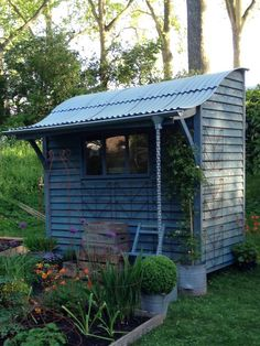 Shedworking Chelsea Flower Show shed...