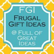 lots of frugal DIY gift ideas. Just in time for Christmas