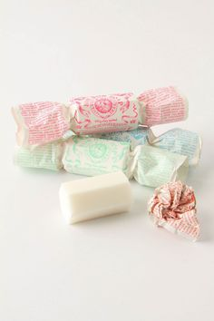 Candy wrapped soap