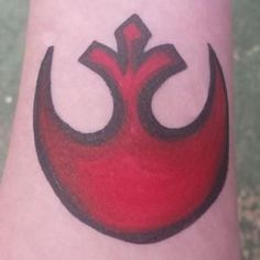 Paint a Star War's Rebel Tattoo!