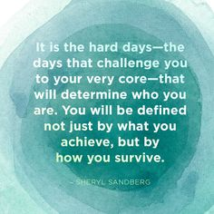 --td {border: solid {mso-data-placement:same-cell;}-->It is the hard days—the days that challenge you to your very core—that will determine who you are. You will be defined not just by what you achieve, but by how you survive. Life Is Hard Quotes, Work Quotes, Quotes To Live By, Nurses Day Quotes, Meaningful Quotes, Inspirational Quotes, Deeps, Nursing Memes, Funny Nursing Quotes