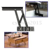 2Pcs Lift Up Top Coffee Table Lifting Frame Mechanism Spring Hinge Hardware