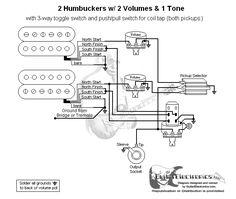 Guitar Wiring Diagram 2 Humbuckers3Way Lever Switch2