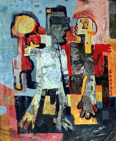 "Saatchi Art Artist Dariusz Labuzek; Painting, ""Blind Date in Paris"" #art"