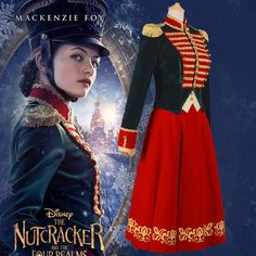 The Nutcracker And The Four Realms Clara Cosplay Costume Halloween Carnival Costume Custom Made _ {categoryName} - AliExpress Mobile Version - Carnival Dress, Carnival Costumes, Movie Costumes, Character Costumes, Nutcracker Costumes, Nutcracker Soldier, Christmas Costumes, Halloween Costumes, Soldier Costume