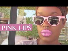 PINK Lipstick Dark Skin