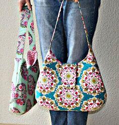 Schöne selbst genähte Tasche