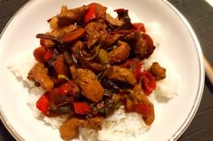Poctivá čína | Apetitonline.cz What To Cook, Food Lists, Kung Pao Chicken, Seitan, Food Videos, Meat, Cooking, Ethnic Recipes, Foods