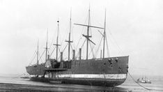 SS Great Eastern Beached